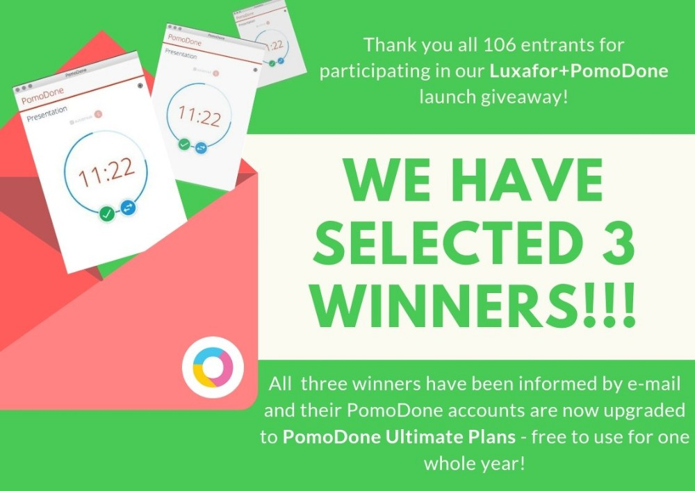 They Are Already Enjoying Their Pomodoneapp Accounts Being Updated To Ultimate Plans Free To Use For A Whole Year