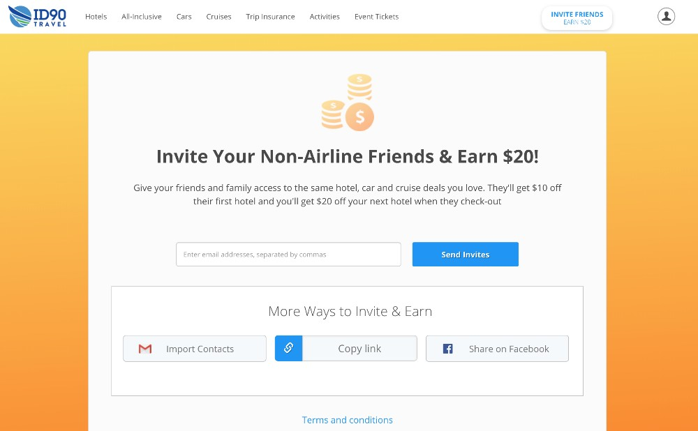 Invite Friends Faster With Gmail Contacts Id90 Travel Beamer
