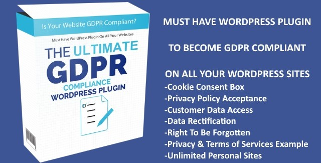 New Deal] Uber GDPR WordPress Plugin - George's Sites | Beamer