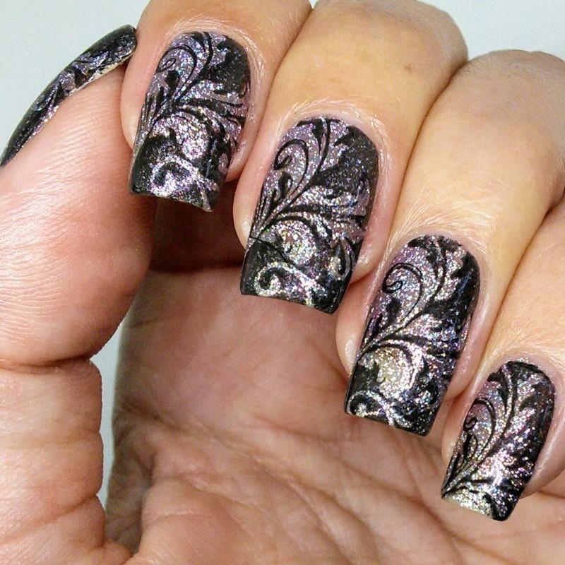 Nail Stamping Plates | Nail Stamping Polish | Nail Art Supplies ...