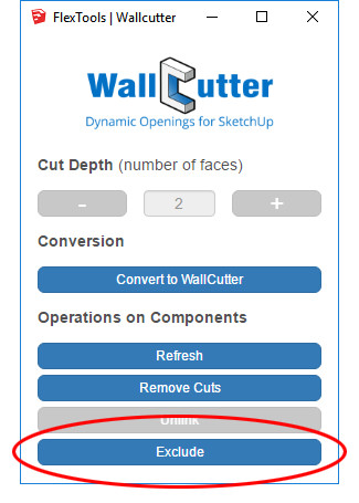 New WallCutter Feature Available! - FlexTools cc | Beamer